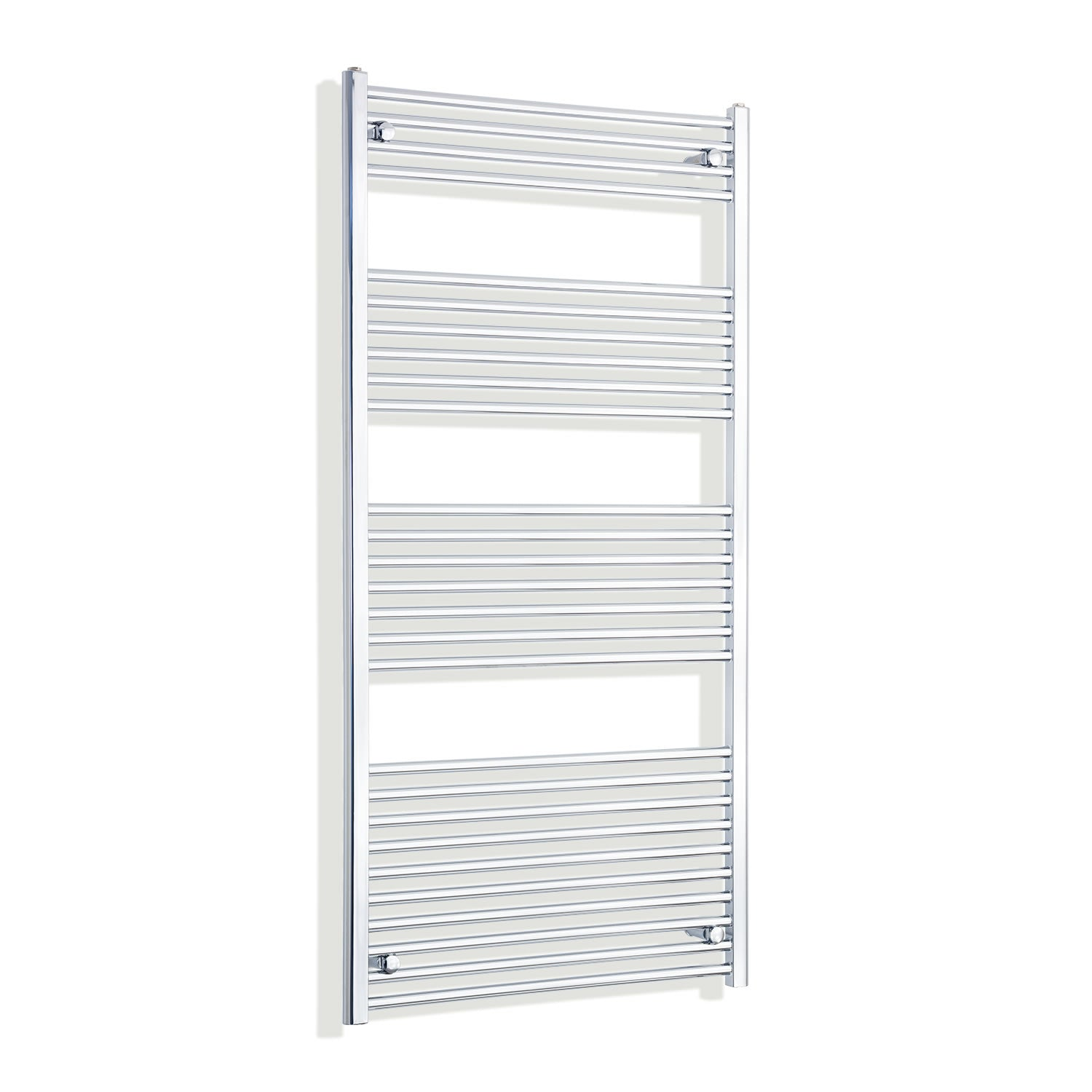 850mm Wide 1600mm High Chrome Towel Rail Radiator