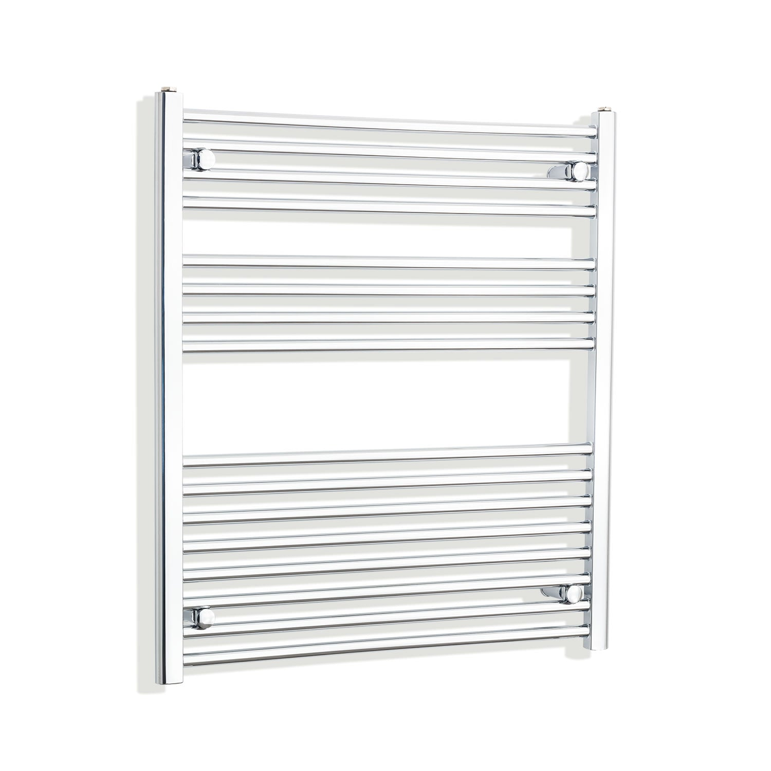 900mm Wide 900mm High Chrome Towel Rail Radiator