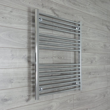 1000mm Wide 900mm High Chrome Towel Rail Radiator