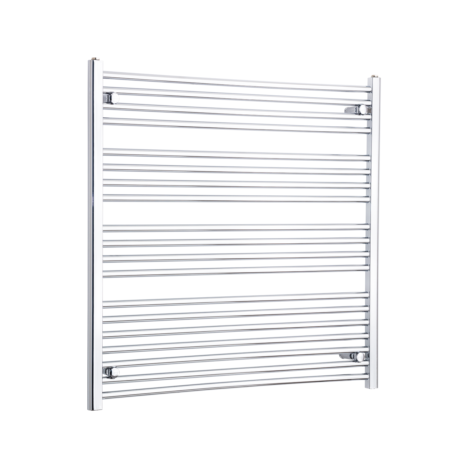 950mm Wide 1000mm High Chrome Towel Rail Radiator