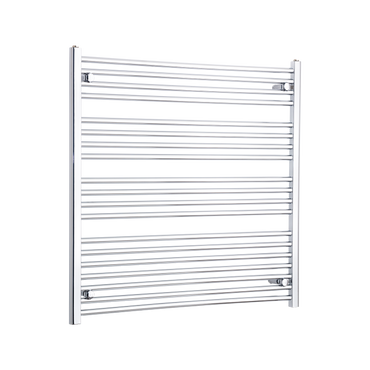 1000mm Wide 1000mm High Chrome Towel Rail Radiator
