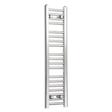200mm Wide 1000mm High Chrome Towel Rail Radiator