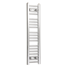 Load image into Gallery viewer, 250mm Wide 1000mm High Chrome Towel Rail Radiator
