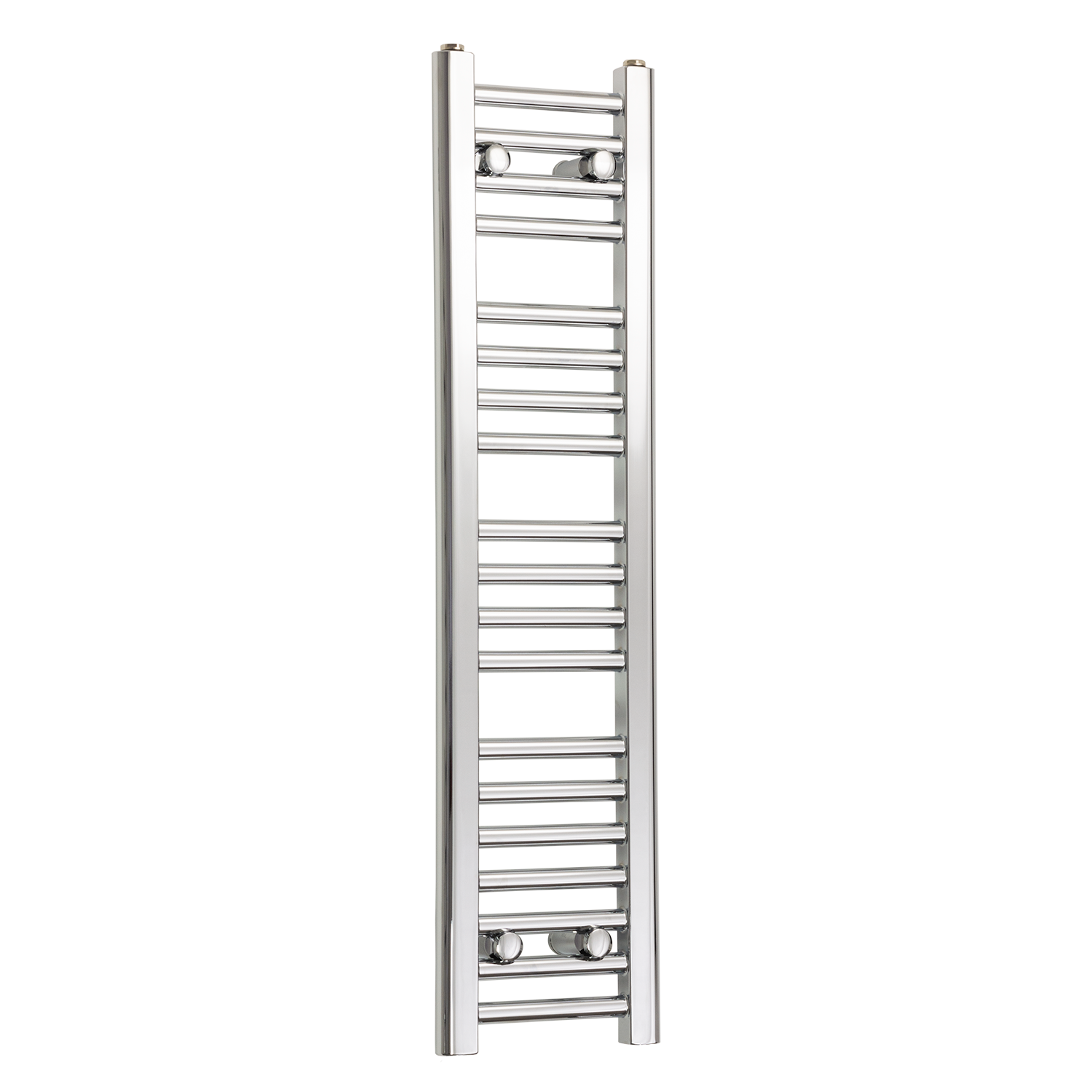 250mm Wide 1000mm High Chrome Towel Rail Radiator