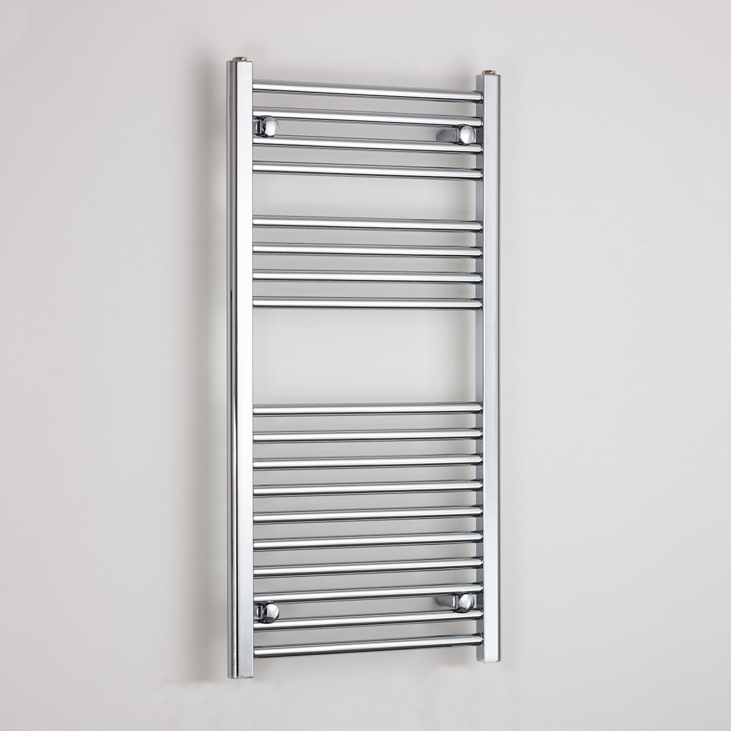 600mm Wide 1000mm High Chrome Towel Rail Radiator