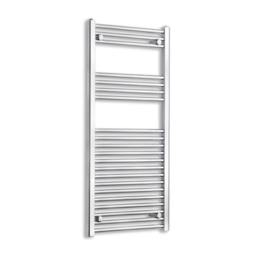 600mm Wide 1100mm High Chrome Towel Rail Radiator