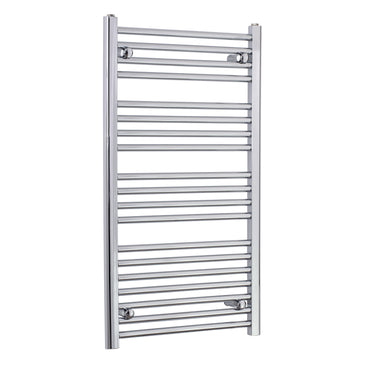 550mm Wide 1000mm High Chrome Towel Rail Radiator