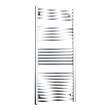 650mm Wide 1400mm High Chrome Towel Rail Radiator