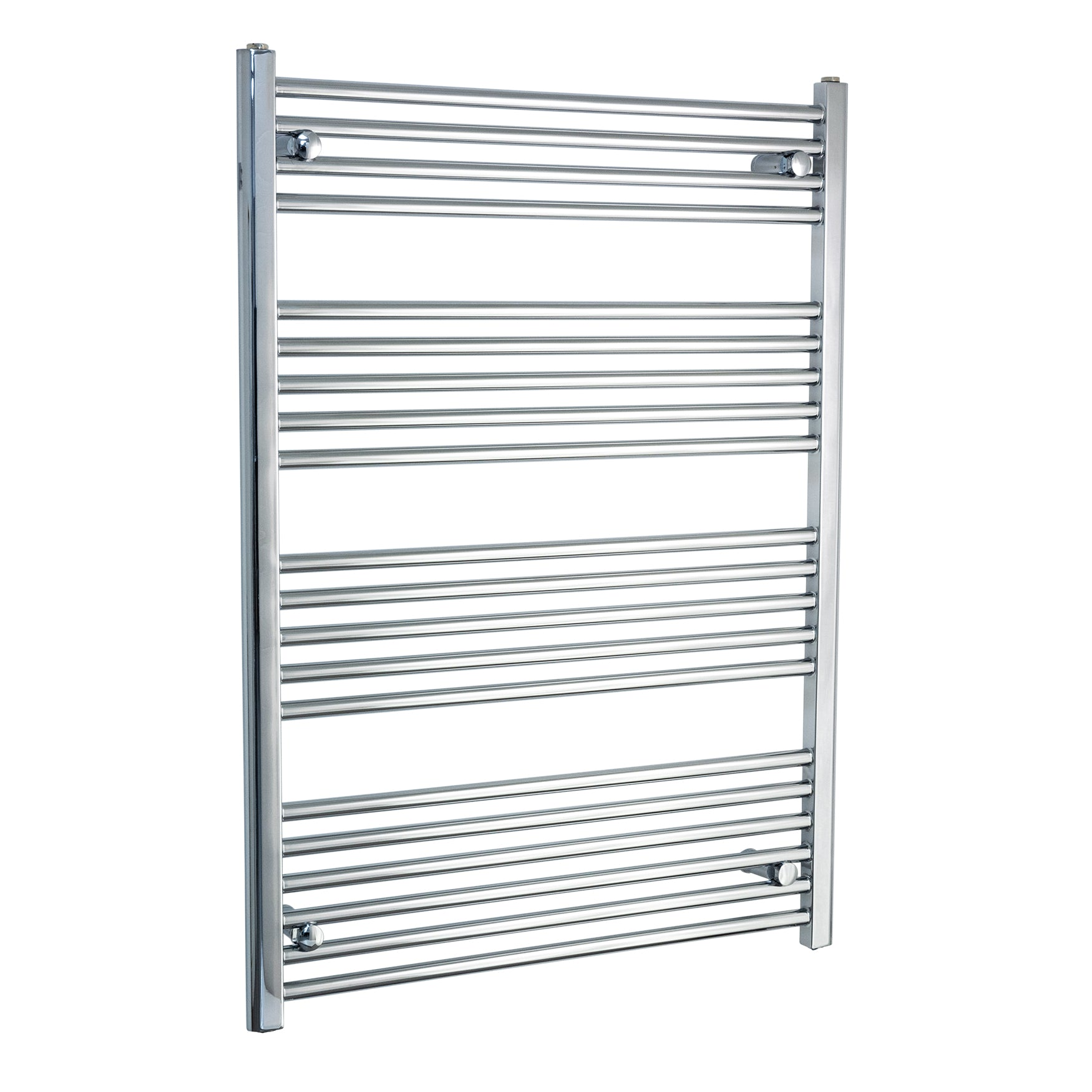 800mm Wide 1100mm High Chrome Towel Rail Radiator