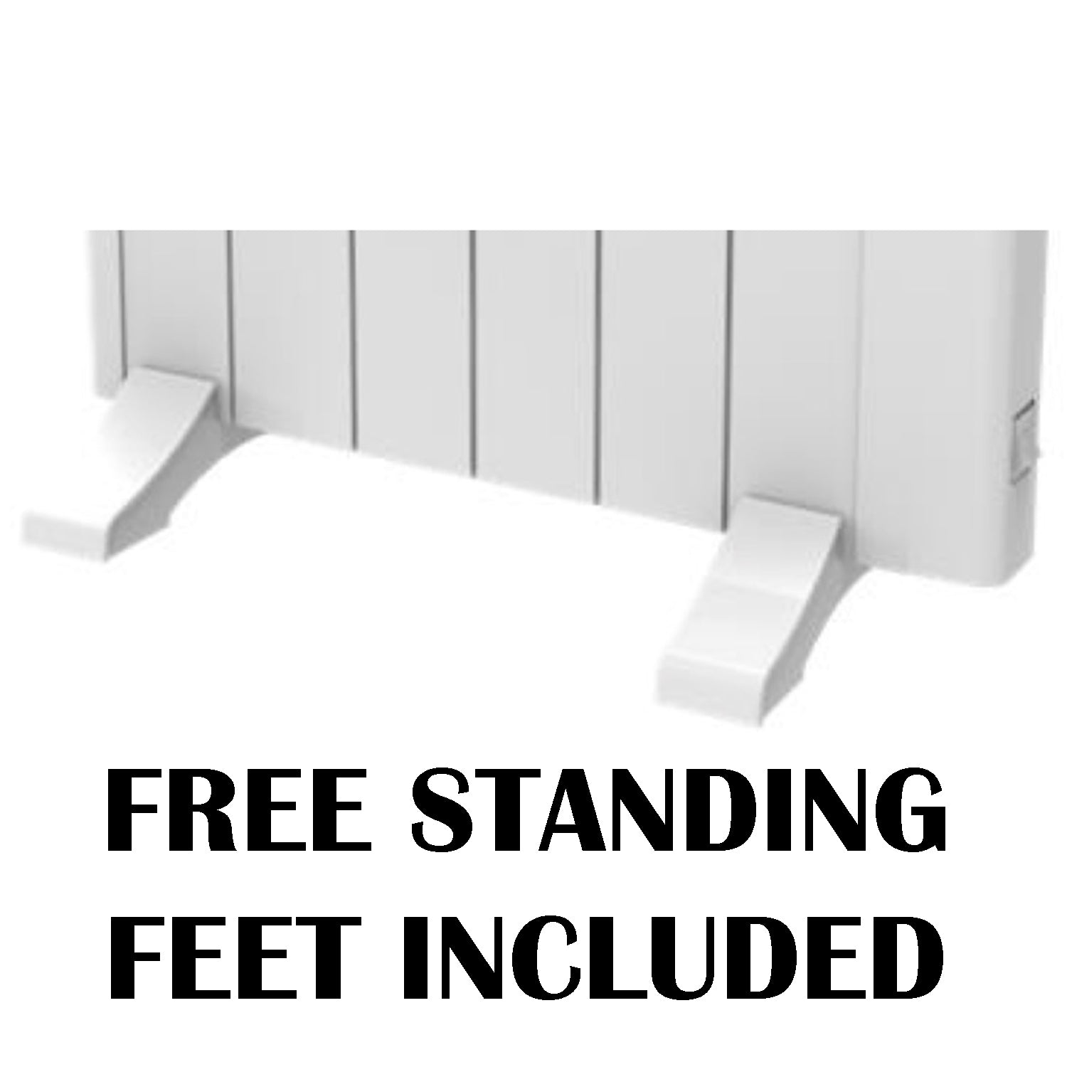 REINA ARLEC ELECTRIC RADIATOR FREE STANDING FEET