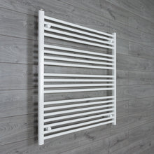 Load image into Gallery viewer, 1200mm Wide 1000mm High White Towel Rail Radiator