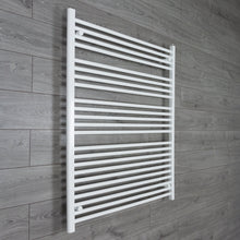 Load image into Gallery viewer, 1000mm Wide 1200mm High White Towel Rail Radiator
