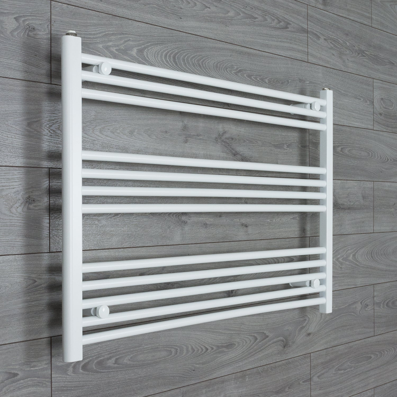 1000mm Wide 700mm High White Towel Rail Radiator