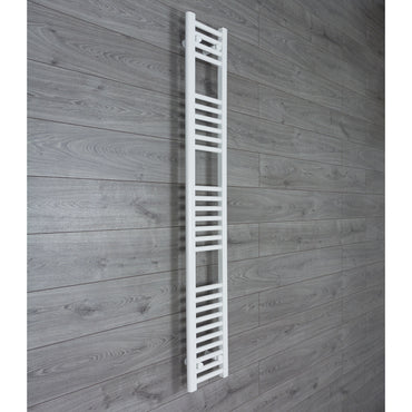 250x1600mm Flat Chrome Electric Element Towel Rail