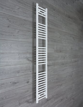 Load image into Gallery viewer, 200mm Wide 1800mm High White Towel Rail Radiator