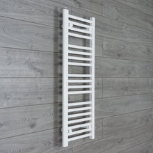 Load image into Gallery viewer, 350mm Wide 1000mm High White Towel Rail Radiator