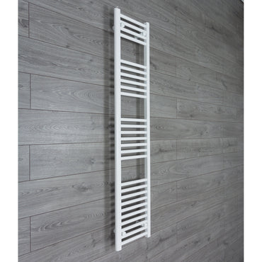 300x1600mm Flat Chrome Electric Element Towel Rail