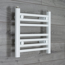 Load image into Gallery viewer, 450mm Wide 400mm High White Towel Rail Radiator