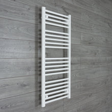 Load image into Gallery viewer, 600mm x 1100mm High White Towel Rail Radiator