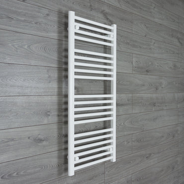600mm x 1100mm High White Towel Rail Radiator