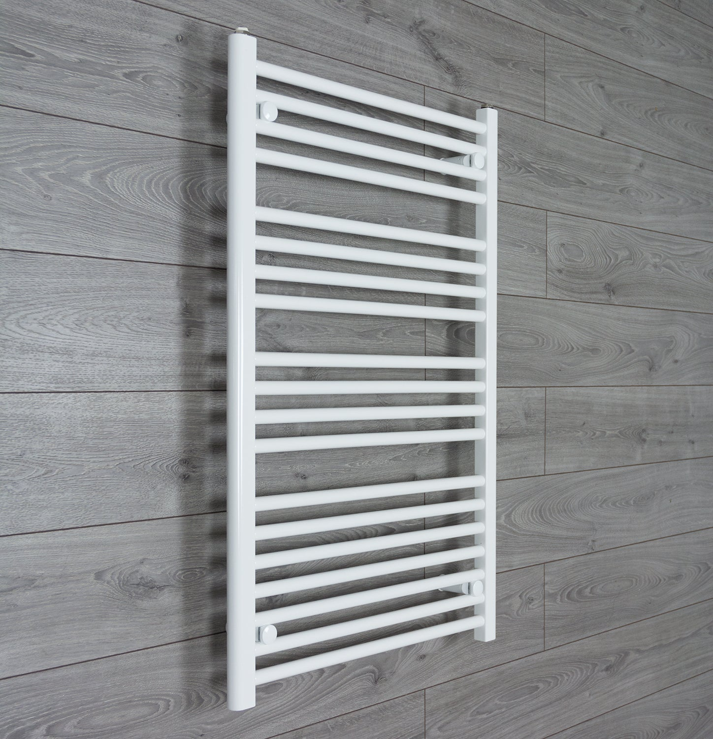650mm Wide 1000mm High White Towel Rail Radiator