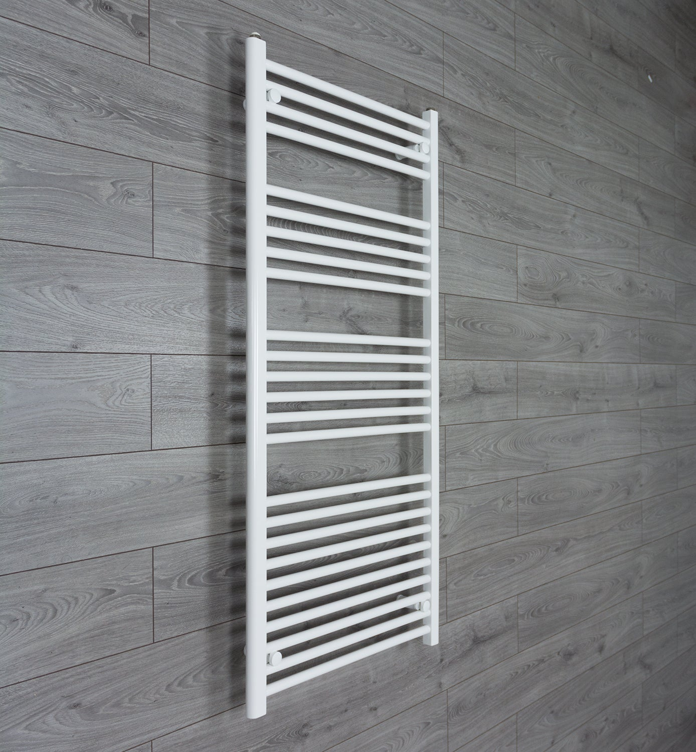 650mm Wide 1400mm High White Towel Rail Radiator