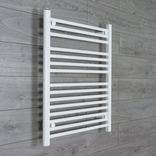 Load image into Gallery viewer, 650mm Wide 800mm High White Towel Rail Radiator