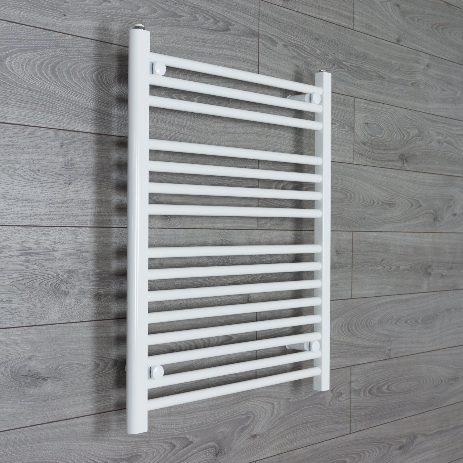700mm x 800mm High White Towel Rail Radiator