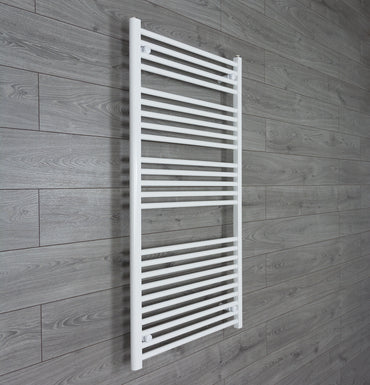 700mm Wide 1300mm High White Towel Rail Radiator
