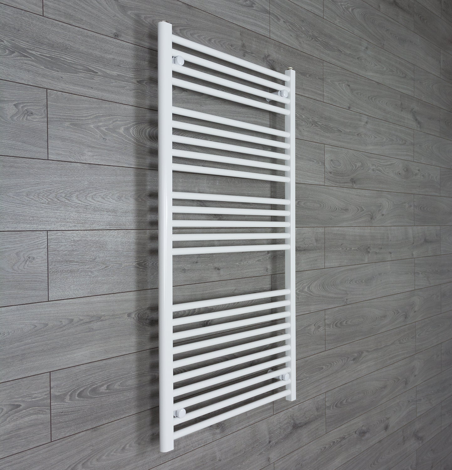 750mm Wide 1300mm High White Towel Rail Radiator