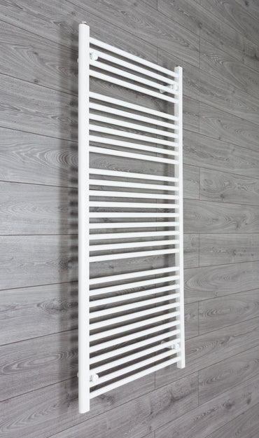 700mm Wide 1500mm High White Towel Rail Radiator