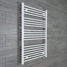 Load image into Gallery viewer, 750mm Wide 1100mm High White Towel Rail Radiator