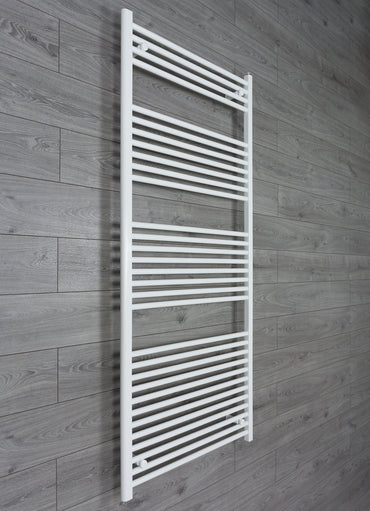 800mm Wide 1800mm High White Towel Rail Radiator