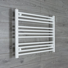 Load image into Gallery viewer, 850mm Wide 600mm High White Towel Rail Radiator