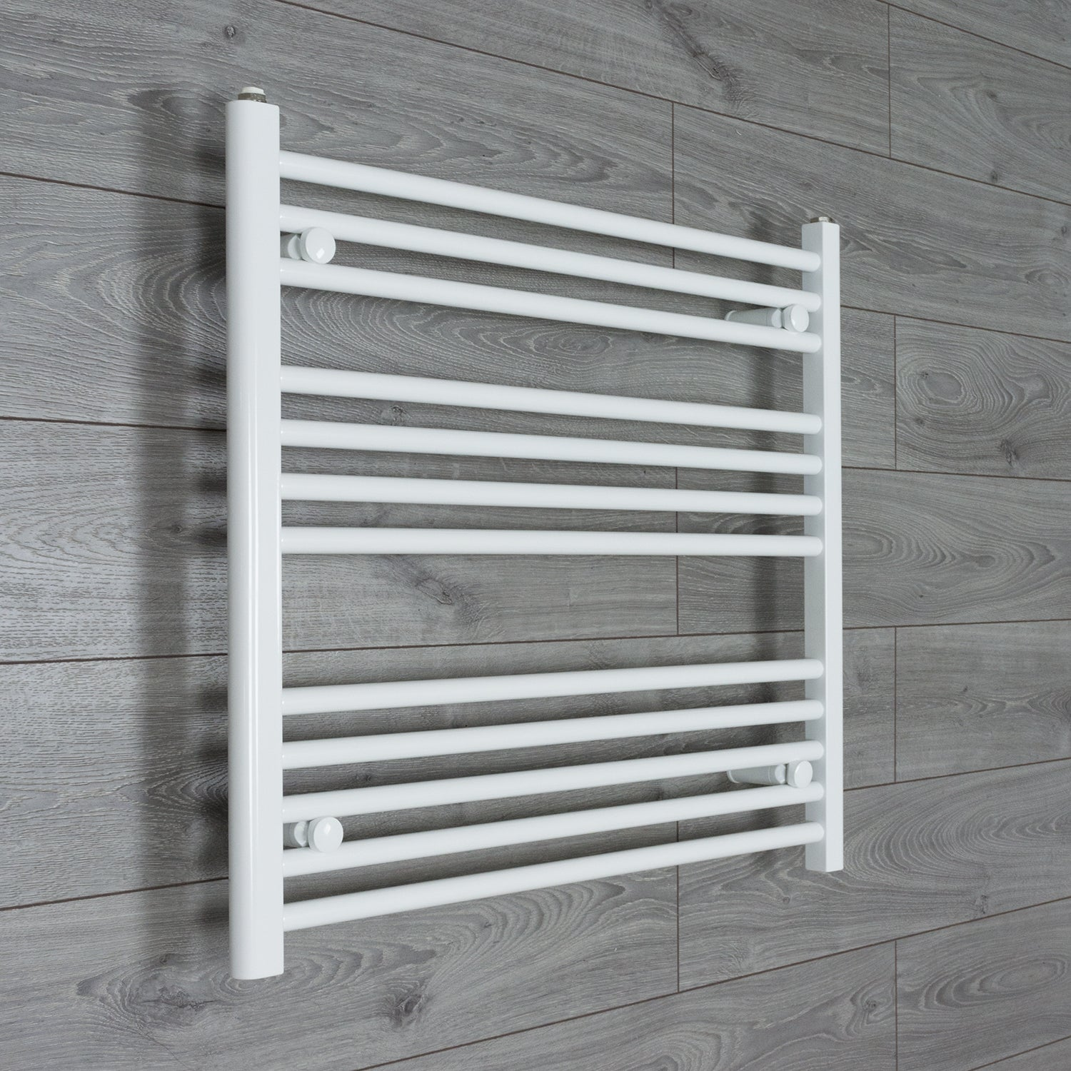 800x700mm Flat White Electric Element Towel Rail