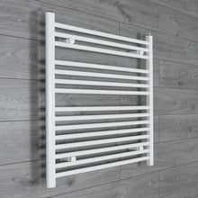 Load image into Gallery viewer, 800mm Wide 800mm High White Towel Rail Radiator