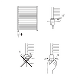 GT Towel Radiator Fitting Instructions Diagram Schematics
