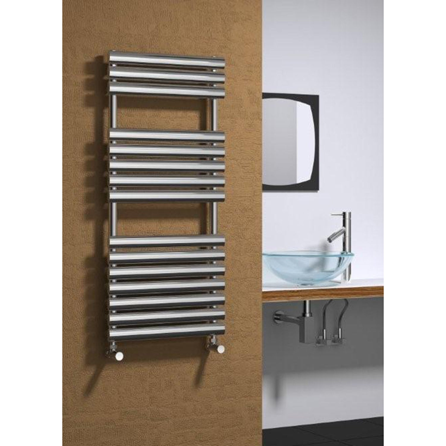 Reina Helin Designer Stainless Steel Towel Radiator