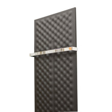 Load image into Gallery viewer, Designer Inno Style 1200 mm High x 450 mm Wide Heated Towel Rail Radiator Black - Elegant Radiators
