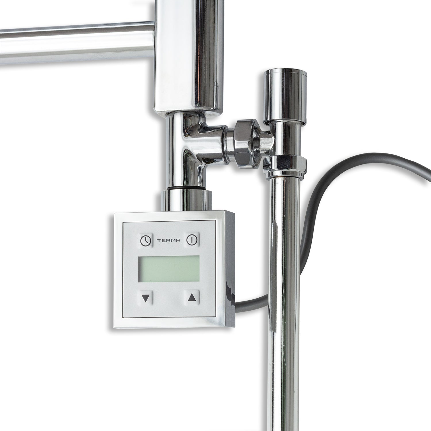 Dual Fuel Kit Thermostatic Element With Programmable Timer Chrome