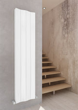 Faro Vertical Aluminium Radiator Heater - White & Anthracite
