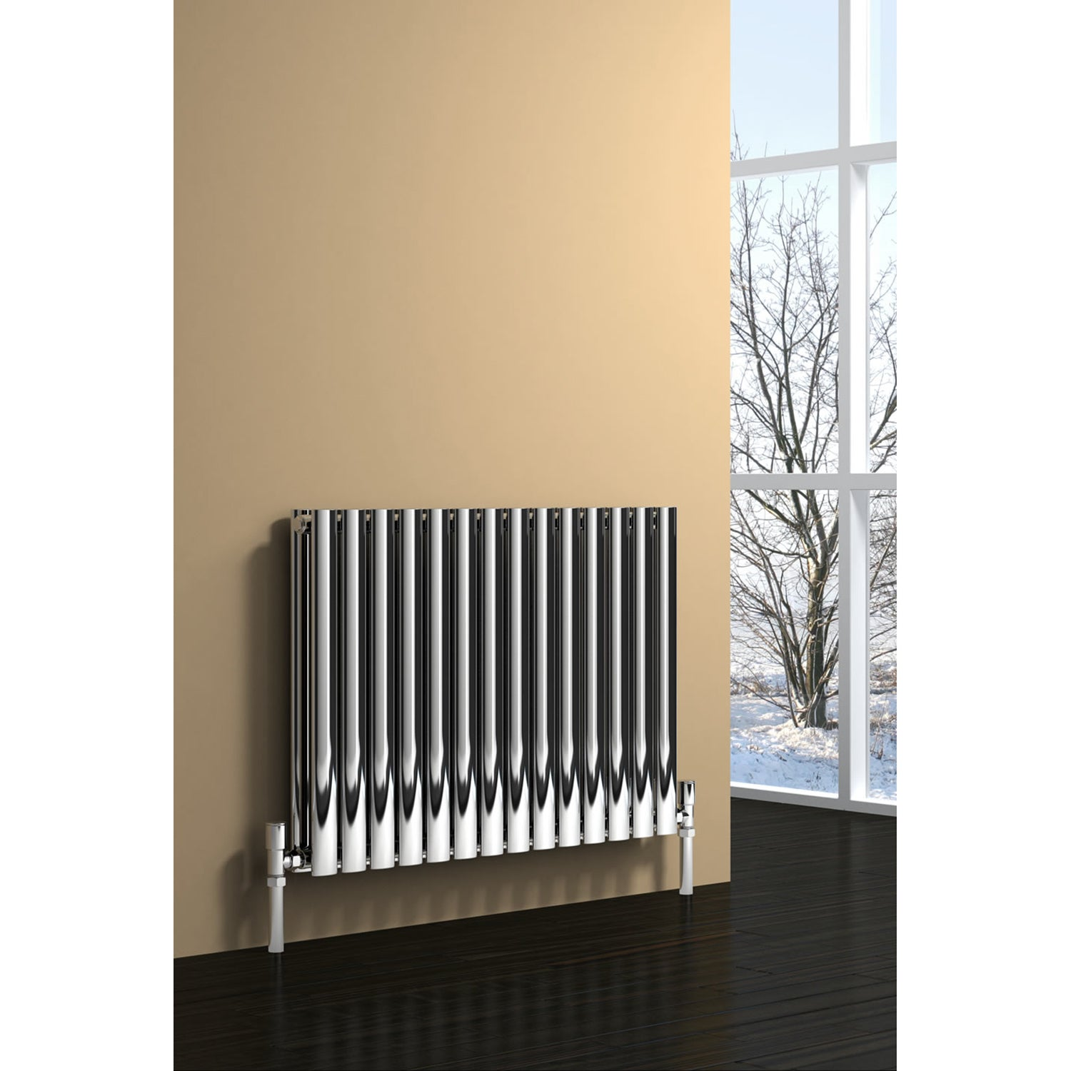 Reina Nerox Double Brushed Designer Radiator