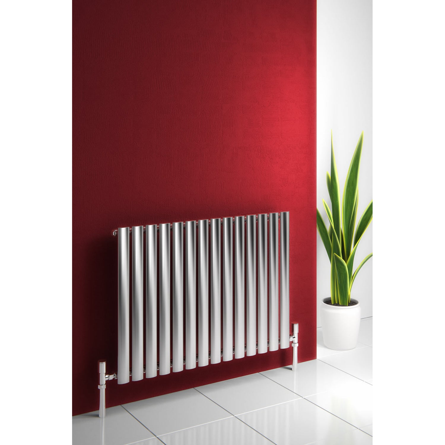Reina Nerox Single Polished Designer Radiator