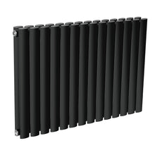 Load image into Gallery viewer, Rena Neva Radiator Double Black Horizontal Designer