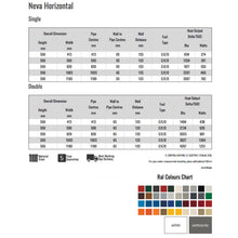 Load image into Gallery viewer, Reina Neva Horizontal Specs Sheet