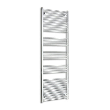 600mm Wide 1800mm High Chrome Towel Rail Radiator