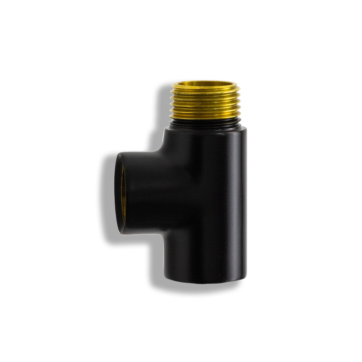 black dual fuel converter t piece