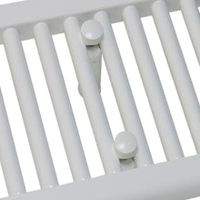 Load image into Gallery viewer, 2000 mm High x 350 mm Wide Heated Towel Rail Radiator White - Elegant Radiators