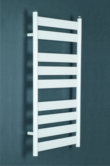 500mm Wide Flat Panel Heated Towel Rail Bathroom Radiator- Anthracite - White - Chrome 950 x 500