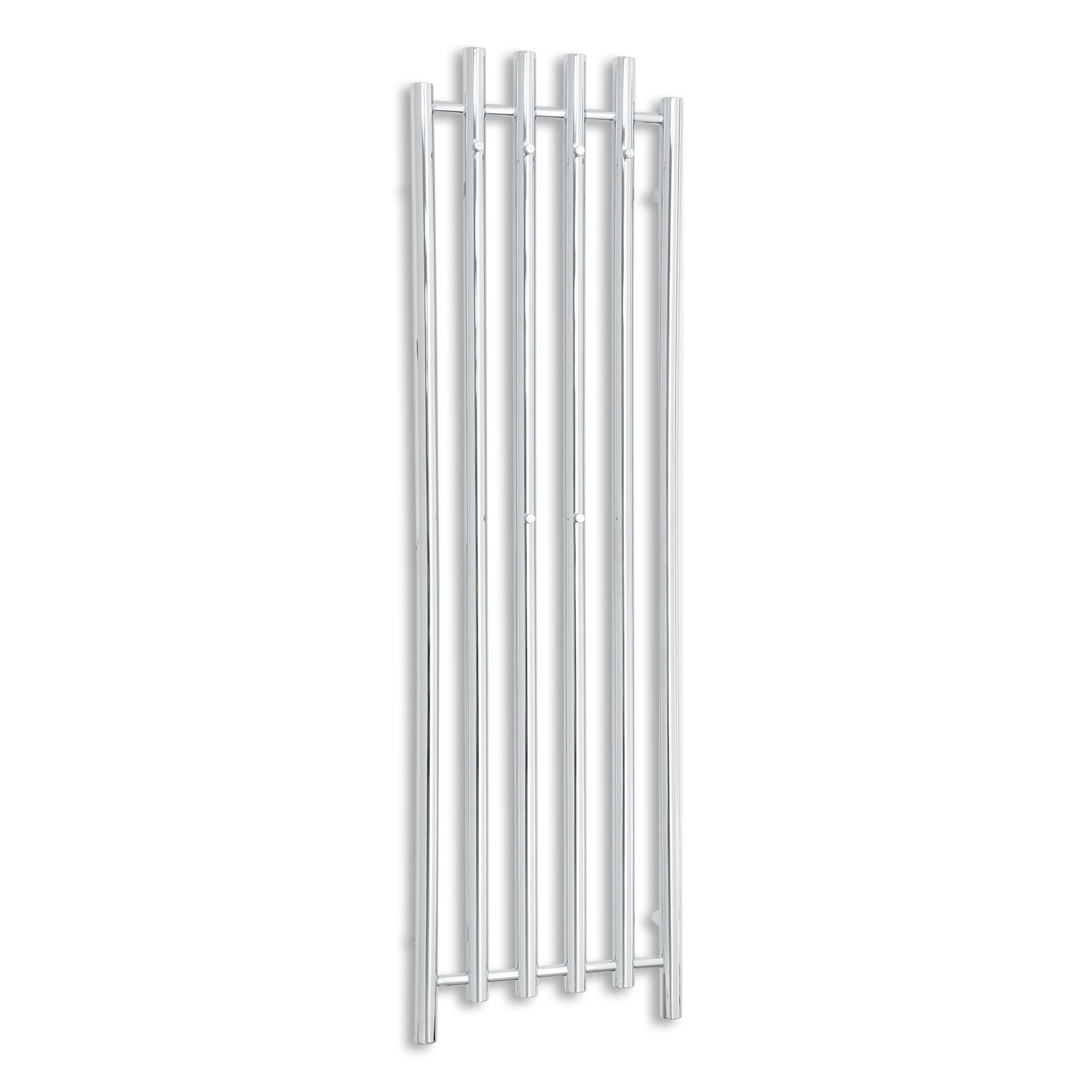 450mm Wide 1600mm High Chrome Towel Rail Radiator